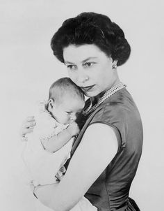 The queen's third child, Prince Andrew, was born on February 19, 1960.   More from    The Stir  :   15 Times Kate Middleton & Queen Elizabeth Were So Over Each Other