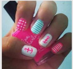Nails. Anchor