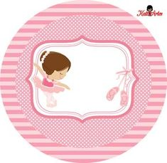 Get your hands on great customizable School stickers from Zazzle. Ballerina Party, Ballerina Birthday Parties, Diy And Crafts, Paper Crafts, Bday Girl, Marie, Clip Art, Printables, Kids Rugs