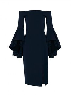Rodeo Show Navy Moneypenny Dress