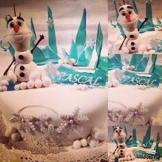 "Frozen ""Olaf"" Cake ❄️"