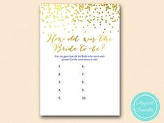 How old was the bride guess the age of bride by MagicalPrintable