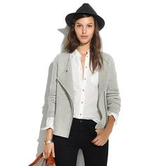 Madewell - Viewpoint Sweater-Jacket #FW2013