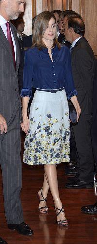7 Sep 2016 - Queen Letizia attends commemoration of the birth of Camilo José Cela. Click to read more