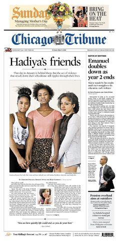 May 5, 2013: Hadiya's friends: Getting to know the people who knew Hadiya Pendleton.