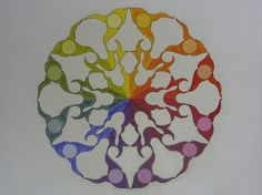 Color Wheel Design Ideas the past few months | color wheels, mandalas and color wheel projects