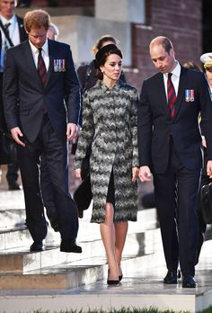 Duchess Kate, Prince William and Prince Harry spent the evening of Thursday, June 30, paying tribute to fallen soldiers at an overnight vigil in France