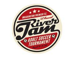 River Jam Soccer Tournament Logo