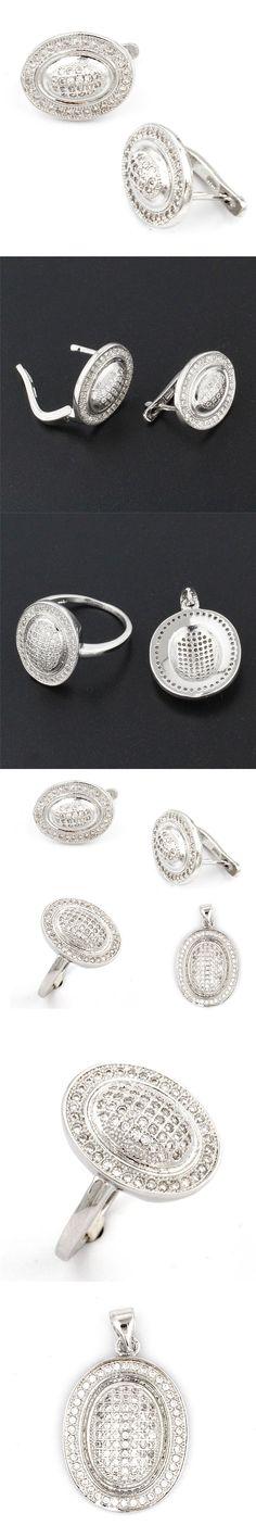 Fashion Jewelry 925 sterling silver set women/ladies Pendant/Earrings/Ring Set Jewelry Sets HS0091S