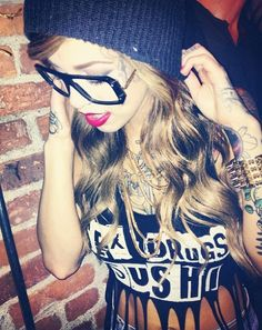 swag style woman <3