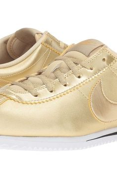 Nike Kids Cortez SE (Big Kid) (Metallic Gold Star/Metallic Gold/Metallic Gold Star) Girls Shoes - Nike Kids, Cortez SE (Big Kid), 859569-900, Footwear Athletic Running, Running, Athletic, Footwear, Shoes, Gift - Outfit Ideas And Street Style 2017