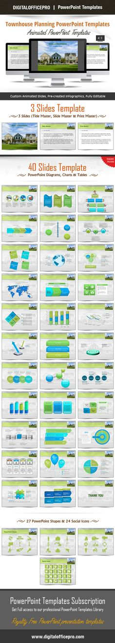 Impress and Engage your audience with Townhouse Planning PowerPoint Template and Townhouse Planning PowerPoint Backgrounds from DigitalOfficePro. Each template comes with a set of PowerPoint Diagrams, Charts & Shapes and are available for instant download.