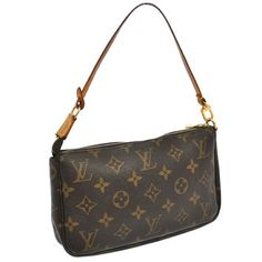 Louis Vuitton Pochette Accessories Wristlet. Get the trendiest Clutch of the season! The Louis Vuitton Pochette Accessories Wristlet is a top 10 member favorite on Tradesy. Save on yours before they are sold out!