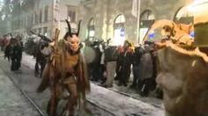 Krampuslauf Graz 2010, via YouTube.