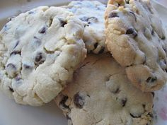 The Garden of Yum: Italian Bakery Style Chocolate Chip Cookies