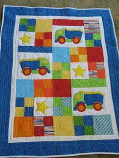 Little Boy's Quilt project on Craftsy.com