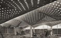 Felix Candela - column structure