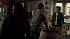 "Fargo 2x02 ""Before The Law"" - Dodd Gerhardt (Jeffrey Donovan), Floyd Gerhardt (Jean Smart), Bear Gerhardt (Angus Sampson) & Hanzee Dent (Zahn McClarnon)"