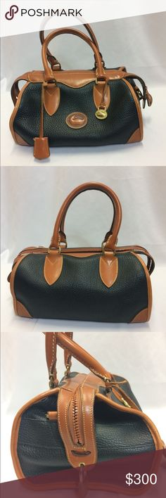 Dooney & Bourke Leather Bag This Dooney Bag is in EXCELLENT condition! The outside has one minute scuff mark. The inside shows no use at all! Add this beautiful bag to your collection today! Dooney & Bourke Bags