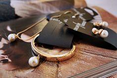 Cailap by Bloggers / Lindan suunnittelema kauniin naisellinen helmikorusetti