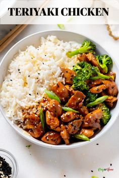 Chinese Chicken Breast Recipe, Best Teriyaki Chicken Recipe, Teriyaki Chicken And Rice, Teriyaki Stir Fry, Asian Chicken, Chicken Stir Fry, Sauce Recipes, Beef Recipes, Healthy Recipes