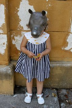 Hippo mask... too cool!