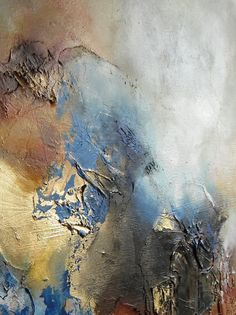 Huge Abstract Mixed Media Painting by SimonkennysPaintings on Etsy