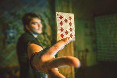 Illusionist Michael Dipson / Фотосъёмка в студии