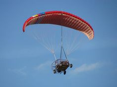 Maverick Flying Car - I-TEC Maverick - a powered parachute aircraft with a roadable fuselage
