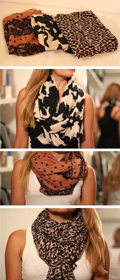 Latest adorable scarf fashion styles