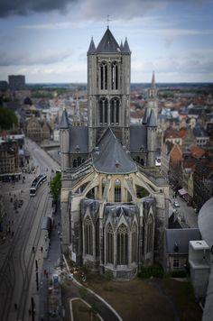 Gante miniaturized Gent, Belgium