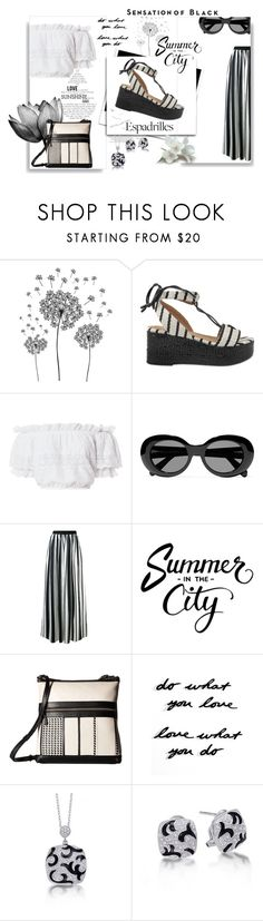 """Espadrille Stylish"" by kelly-floramoon-legg ❤ liked on Polyvore featuring jcp, Sonia Rykiel, LoveShackFancy, Acne Studios, Blugirl, Elliott Lucca, Umbra, Vision and espadrilles"
