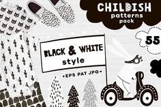 Childish patterns pack by solmariart on @creativemarket