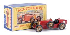 Matchbox Models of Yesteryear No.Y6-2 Bugatti Type 35.