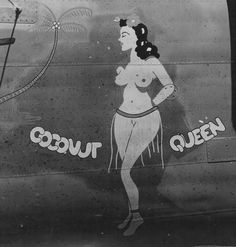 B-24, Coconut Queen http://thepinuppodcast.com  re-pinned this because we are trying to make the pinup community a little bit better.