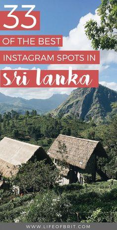 best instagram spots in Sri lanka