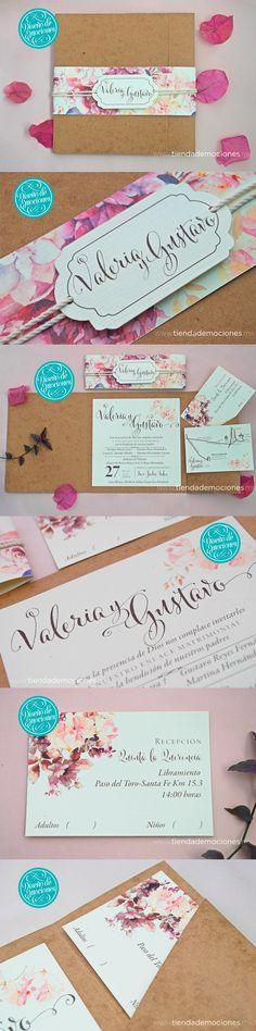 Rustic Vintage para Valeria y Gustavo #boda #vintage #rustica #rustic #wedding #kraft #bride #flores #natural