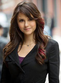 Nina Dobrev as Elena Gilbert on The Vampire Diaries