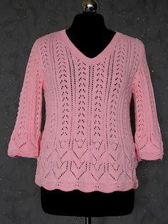 Розовый ажур - Вязание - Страна Мам