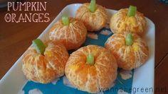 pumpkin oranges for class parties