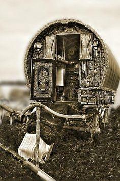 Gypsy caravan.