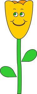 Spring tulip vector illustration