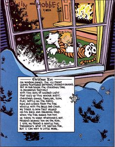 Calvin and Hobbes-another one of Liam's favorites!