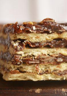 Turrón de avena / Recetas dulces, fáciles y ricas! / Tres Tenedores Lasagna, Oreo, Goodies, Food And Drink, Chocolate, Baking, Cake, Ethnic Recipes, Blog
