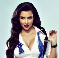 Kim Kardashian Hair  Makeup