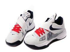 6307d715372261 Nike Zoom KD IV 4 USA Olympics White Black Red