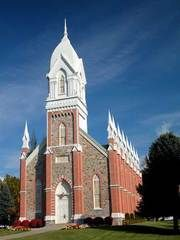 The historic Brigham City Tabernacle in Utah Places To Travel, Places To See, Places Ive Been, Brigham City Utah, Colorado Plateau, Old Churches, Lds Temples, Place Of Worship, Old Buildings