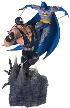 Batman vs Bane Diorama https://www.sideshowtoy.com/collectibles/dc-comics-batman-vs-bane-iron-studios-903069/