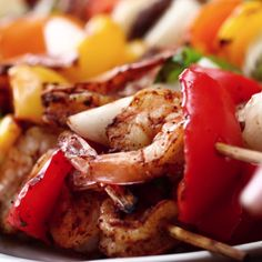 Grilled Fajita Skewers