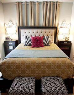 Heb je een kleine slaapkamer, die je graag op een sfeervolle en functionele manier wilt inrichten? Zorg dan dat je slim om gaat met de beschikbare ruimte en pas de regels over optische effecten toe.